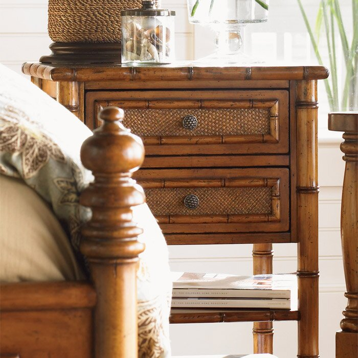 Tommy Bahama Home Island Estate 2 Drawer Nightstand & Reviews ...