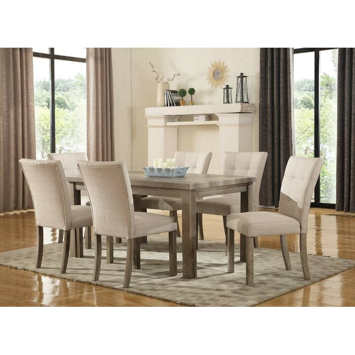 ultimate accents urban 7 piece dining set reviews wayfair - Dining Room Table Accents