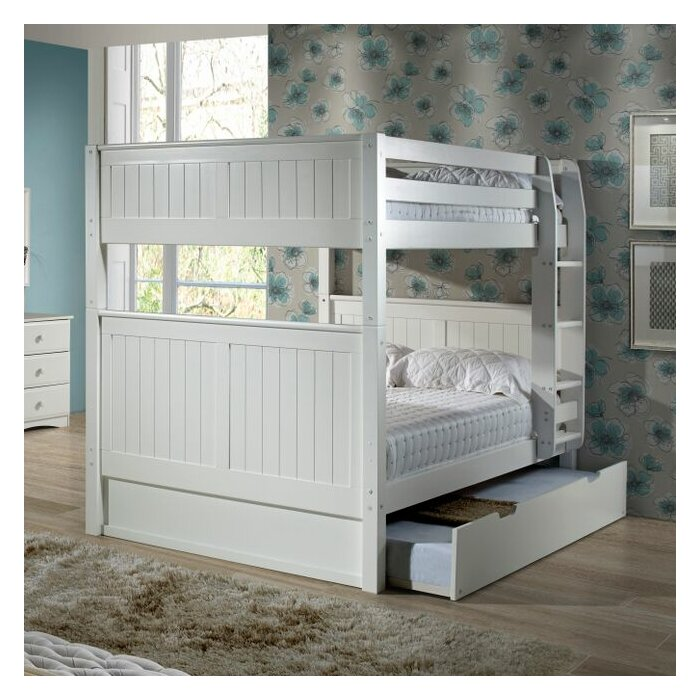 Delightful Full Bunk Bed With Trundle Part - 5: Viv + Rae Amani Traditional Full Over Full Bunk Bed With Trundle U0026 Reviews    Wayfair