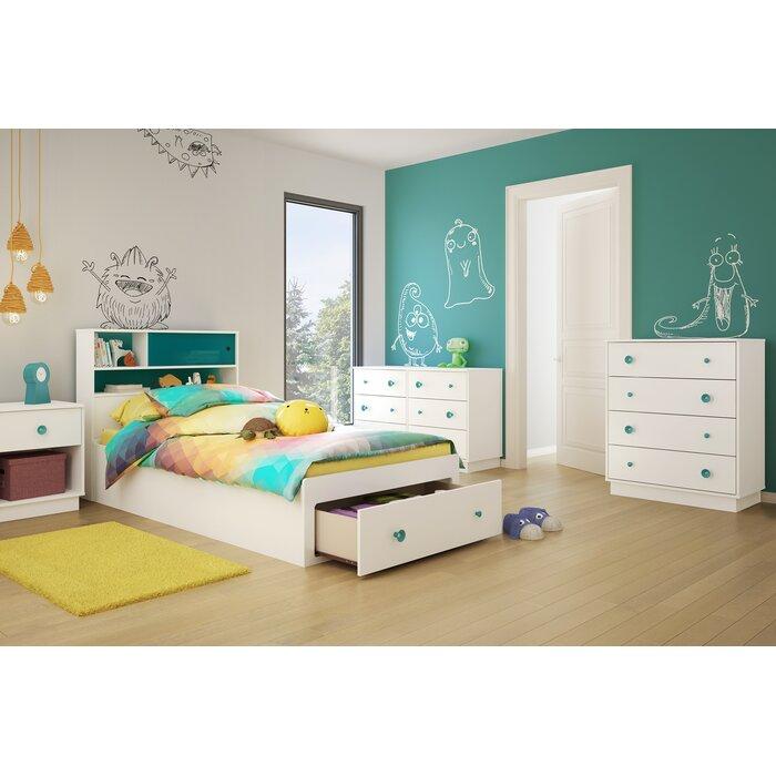South Shore Little Monsters Twin Platform Configurable Bedroom Set U0026  Reviews | Wayfair