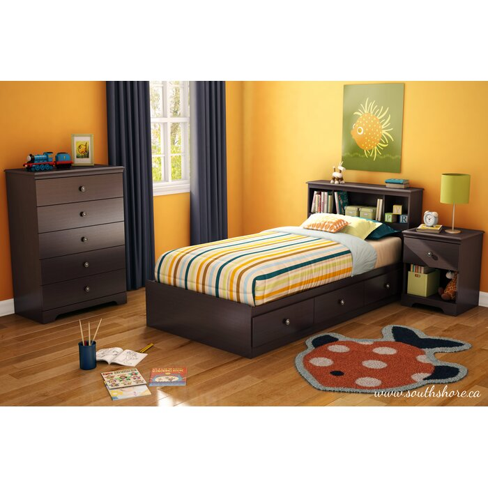 South Shore Zach Twin Platform Customizable Bedroom Set U0026 Reviews | Wayfair