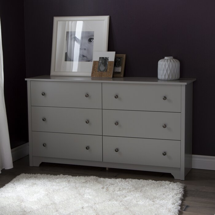 South Shore Vito 6 Drawer Dresser U0026 Reviews | Wayfair