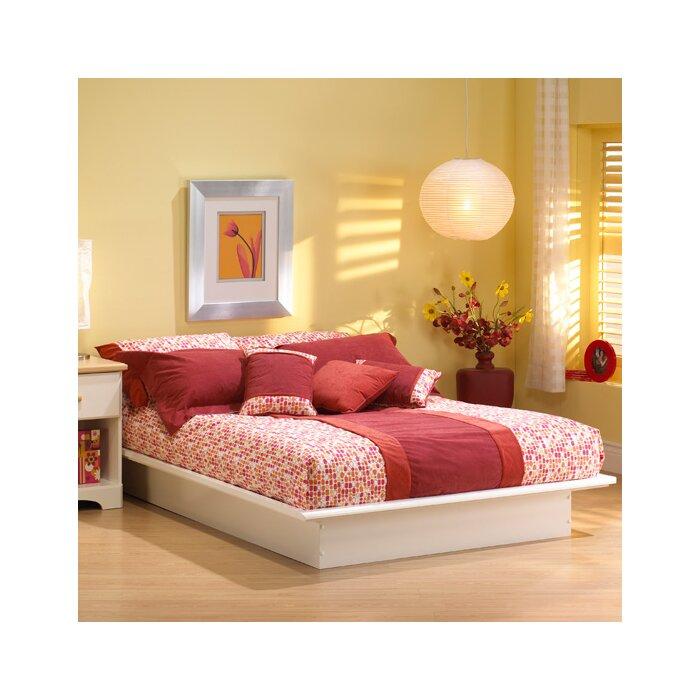 Queen Platform Bed Frames south shore newbury platform bed & reviews | wayfair