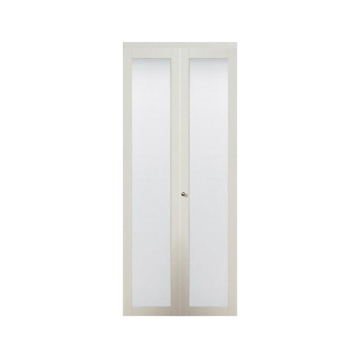 erias home designs baldarassario wood 2 panel painted bi fold interior door reviews wayfair. Interior Design Ideas. Home Design Ideas