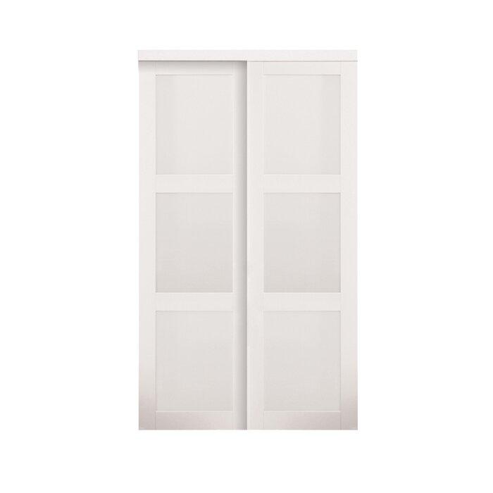 erias home designs baldarassario mdf 2 panel painted sliding interior door reviews wayfair. Interior Design Ideas. Home Design Ideas