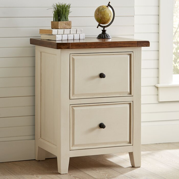 Harris File Cabinet - Antique White File Cabinet Wayfair
