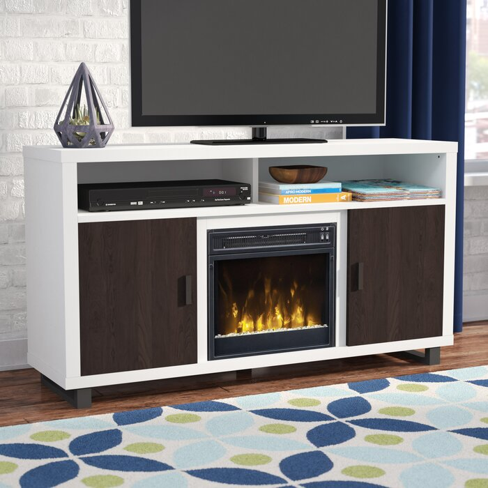 Fireplace Design tv stand with fireplace : Mercury Row Benn 54