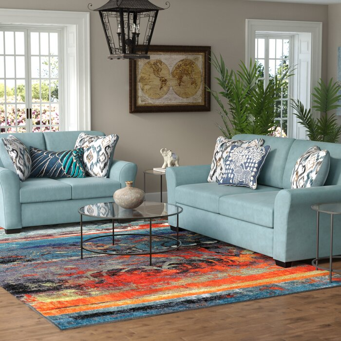 world menagerie easthampton 2 piece living room set reviews wayfair - Living Room East Hampton