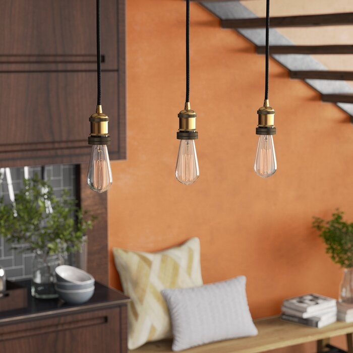 Williston forge fabian 3 light kitchen island pendant reviews wayfair ca