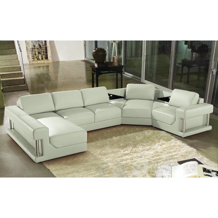 Eben Sectional  sc 1 st  AllModern : sofas with chaise - Sectionals, Sofas & Couches