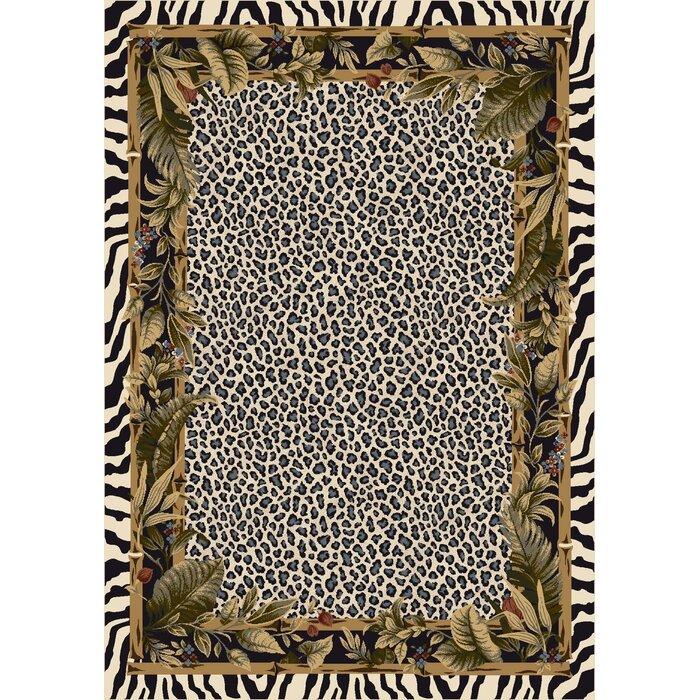 Leopard Print Area Rug Part - 32: Milliken Signature Jungle Safari Snow Leopard Area Rug U0026 Reviews | Wayfair