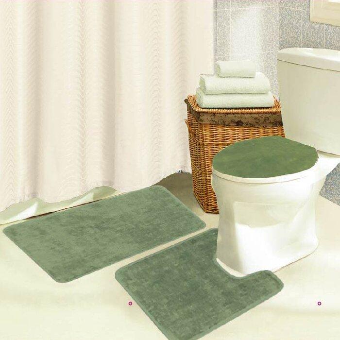 Kashi Home Brandy 3 Piece Bath Rug Set U0026 Reviews | Wayfair