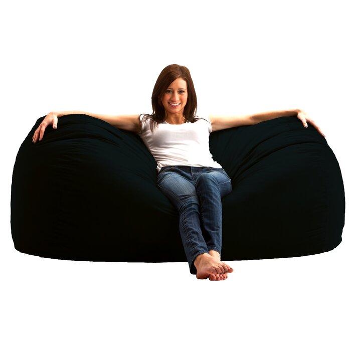 Comfort Research Bean Bag Sofa U0026 Reviews   Wayfair