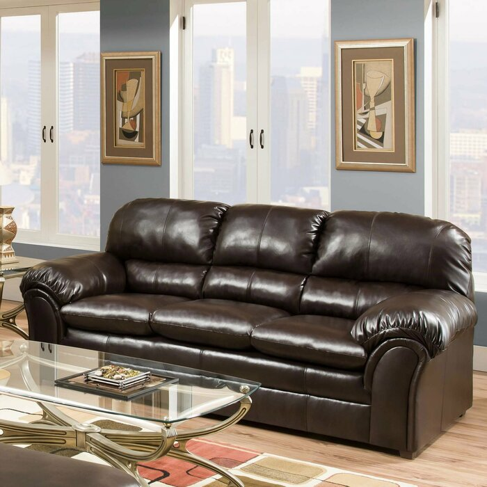 Three Posts Simmons Upholstery Sawyers Sofa Reviews Wayfair