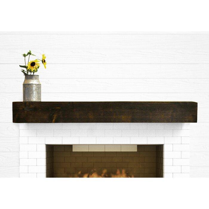 Fireplace Mantel modern fireplace mantel shelf : Dogberry Collections Modern Farmhouse Fireplace Mantel Shelf ...