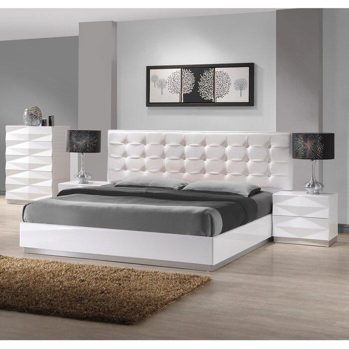 J m furniture verona platform customizable bedroom set for J m bedroom furniture