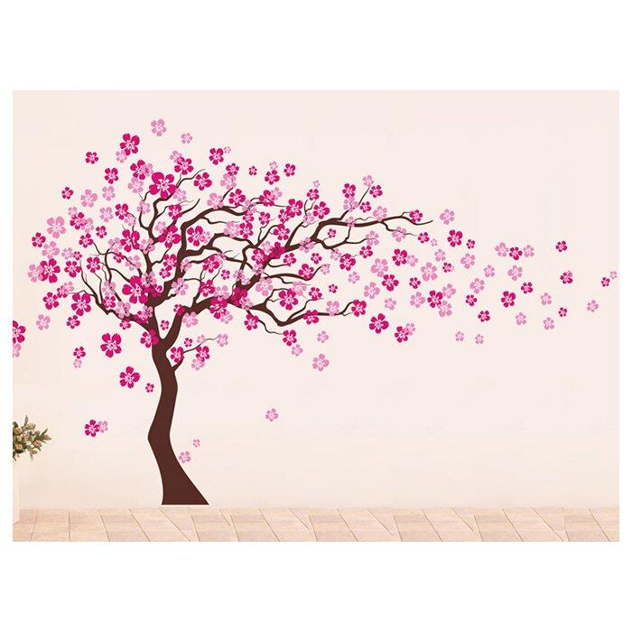 Pop Decors Cherry Blossom Tree Wall Decal U0026 Reviews | Wayfair