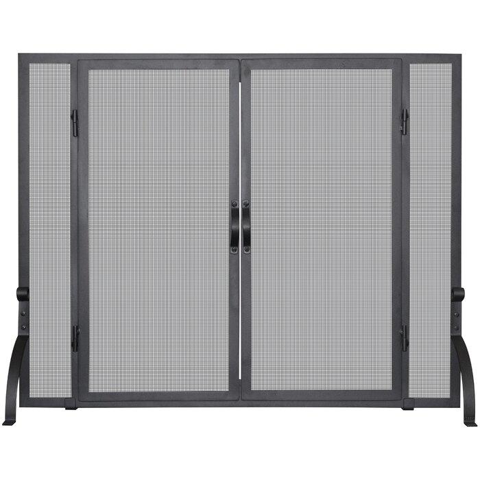 Uniflame Single Panel Wrought Iron Fireplace Screen Reviews