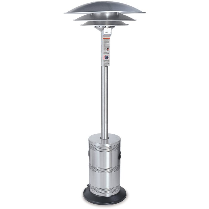 Endless Summer Commercial Outdoor Triple Dome 40,000 BTU Propane Patio  Heater U0026 Reviews | Wayfair