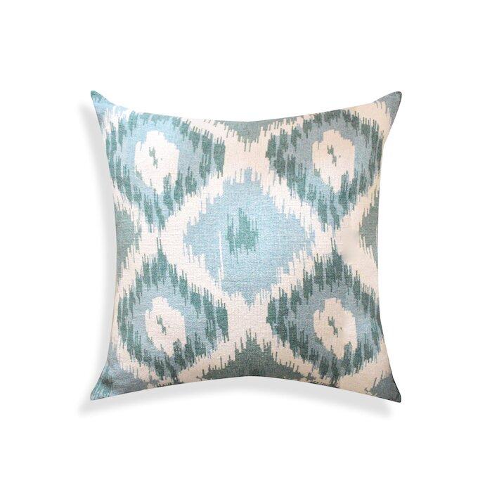 A1 Home Collections Llc Ikat Designer Cotton Throw Pillow Reviews Wayfair