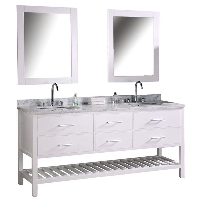 Bathroom Vanities Wayfair double bathroom vanity set. picture of 88 washington double