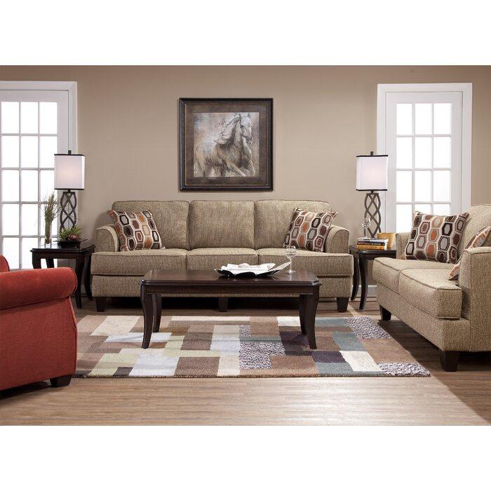 Upholstered Living Room Furniture. Andover Mills Nordberg Configurable Living Room Set  Reviews Wayfair