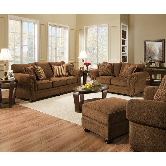 Red Barrel Studio Stuart Configurable Living Room Set & Reviews ...