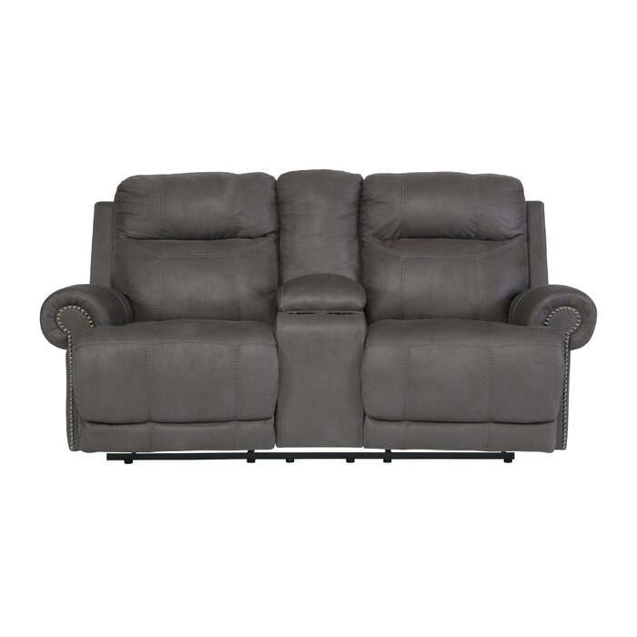 Red Barrel Studio Culver Double Console Reclining Loveseat \u0026 Reviews | Wayfair  sc 1 st  Wayfair & Red Barrel Studio Culver Double Console Reclining Loveseat ... islam-shia.org