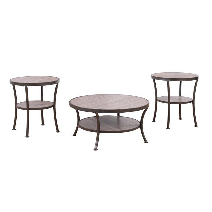Madison Home USA 3 Piece Coffee Table And End Table Set U0026 Reviews | Wayfair
