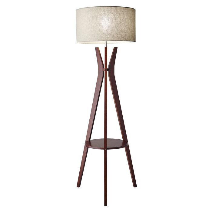floor lamps adesso in lamp painted shop all swivel black