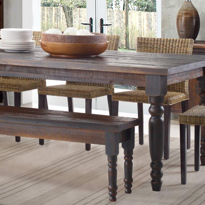 . Grain Wood Furniture Valerie Wood Bench   Reviews   Wayfair