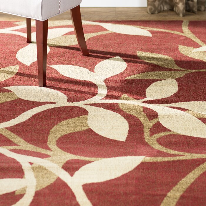 home red area rug rugs 5x8 8x10 contemporary