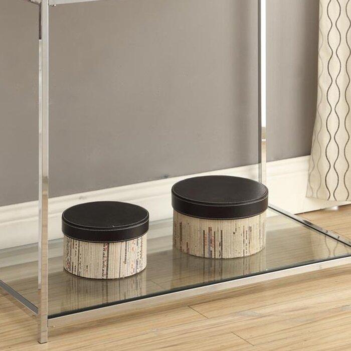 varick gallery boger console table & reviews   wayfair