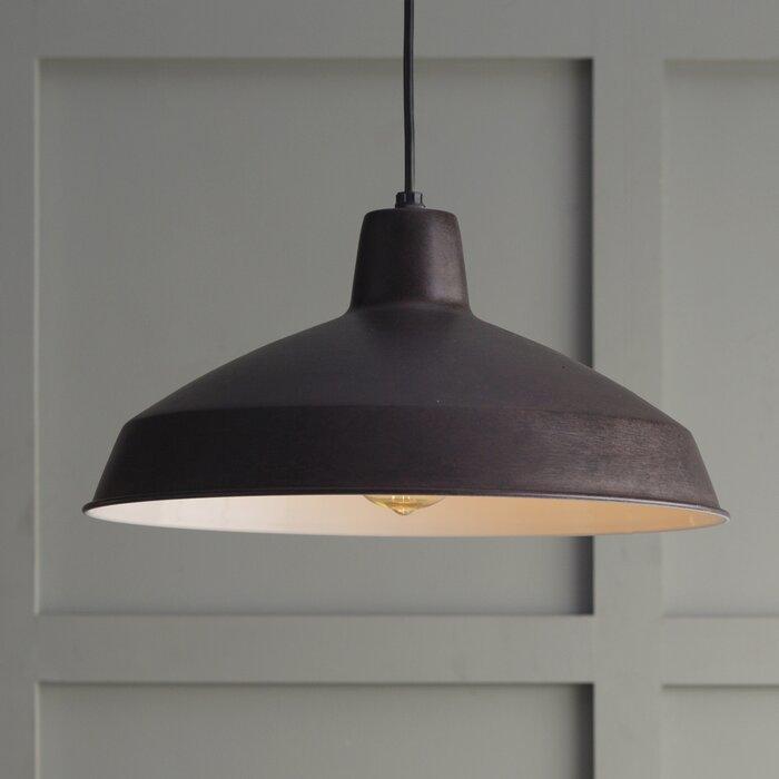 & Zipcode Design Woodsen 1-Light Inverted Pendant u0026 Reviews | Wayfair azcodes.com