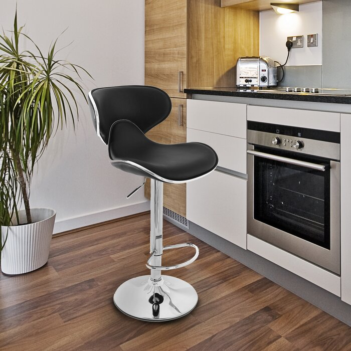 low back swivel bar stools