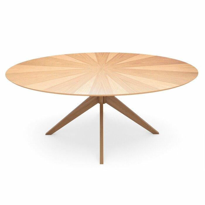 modern oval dining  kitchen tables  allmodern, Kitchen design