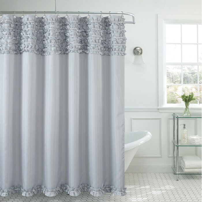 Viv + Rae Roderick Spa Shower Curtain U0026 Reviews | Wayfair