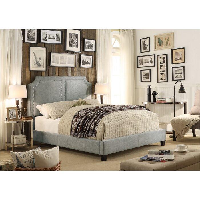 Superior Mulhouse Furniture Sanibel Queen Upholstered Panel Bed U0026 Reviews   Wayfair