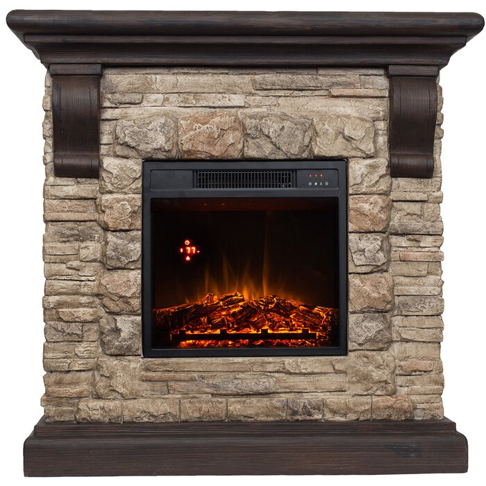 Three Posts Mcdougall Comfort Glow Electric Fireplace & Reviews ...