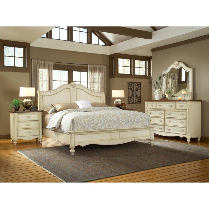 Brecon Panel Configurable Bedroom Set Reviews Birch Lane - Light colored wood bedroom sets