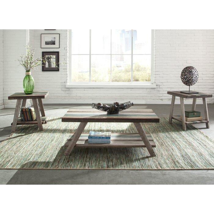 Halfeti 3 Piece Coffee Table Set - Coffee Table Sets You'll Love Wayfair