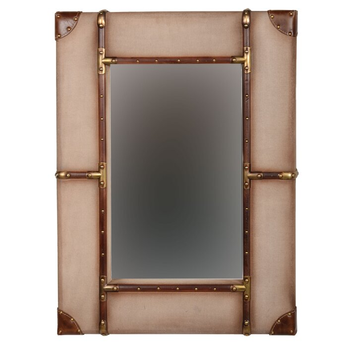 Framed Wall Mirrors trent austin design rectangle vintage framed wall mirror & reviews