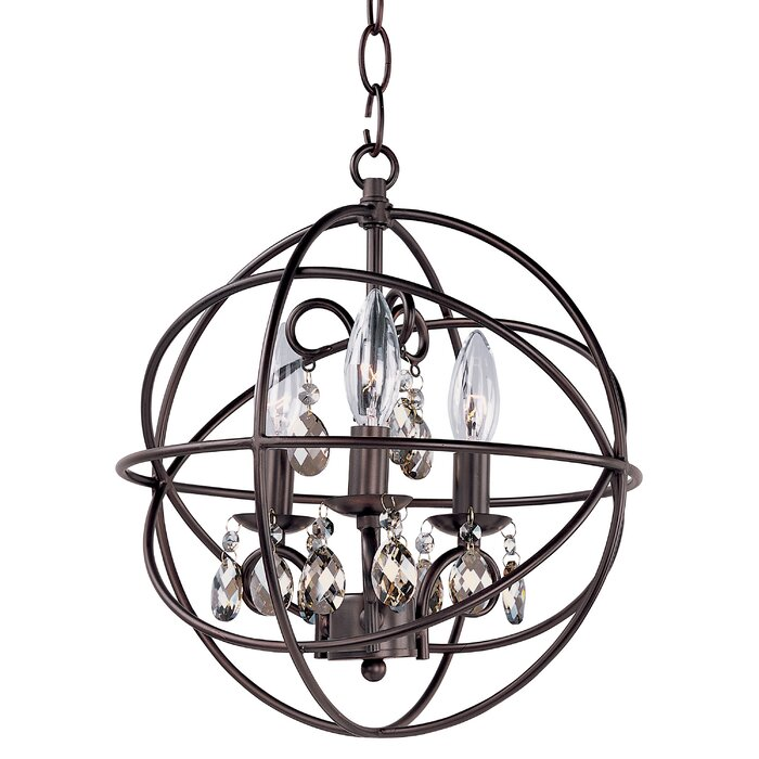 Willa Arlo Interiors Alden 3 Light Candle Style Chandelier Reviews