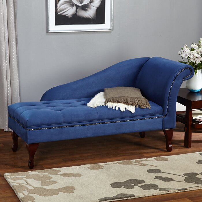 Willa Arlo Interiors Boydston Storage Chaise Lounge U0026 Reviews | Wayfair