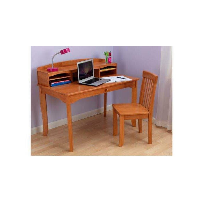 Avalon 42 W 3 Piece Writing Desk Set