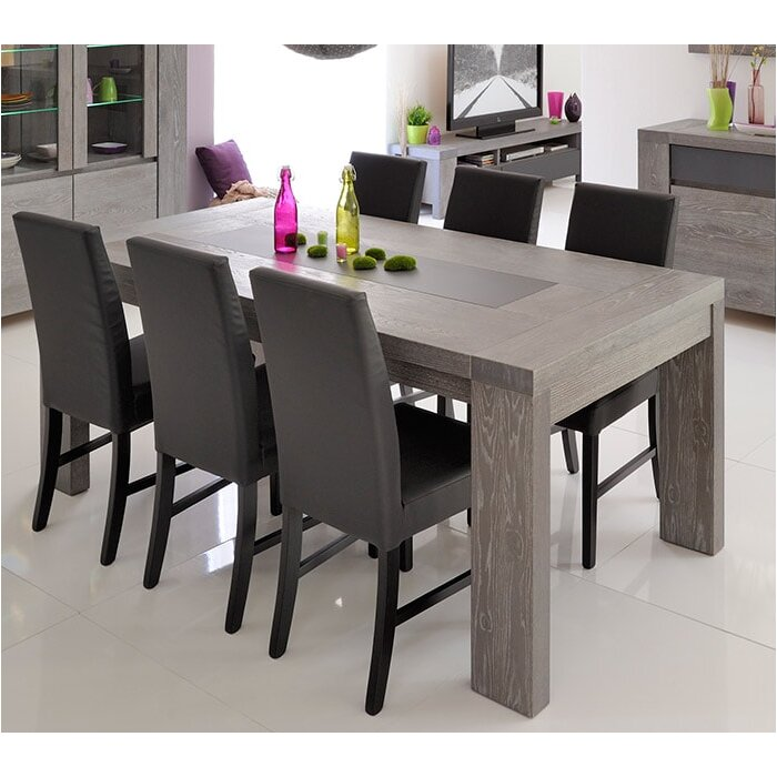 parisot bristol extendable dining table & reviews | wayfair