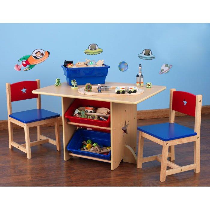 KidKraft Star Kids 5 Piece Table And Chair Set U0026 Reviews   Wayfair