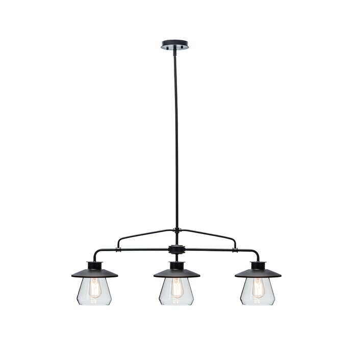 Zoey 3 Light Kitchen Island Pendant
