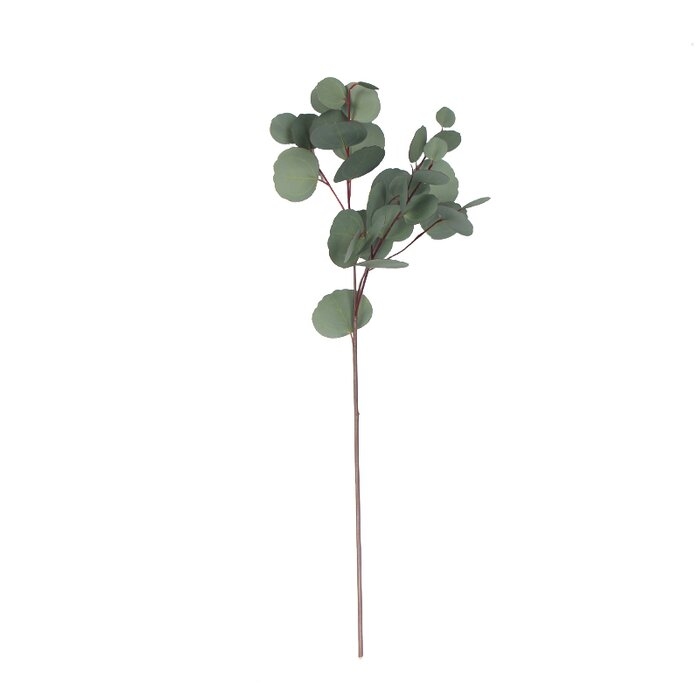 Artificial Eucalyptus Leaf Floral Stem