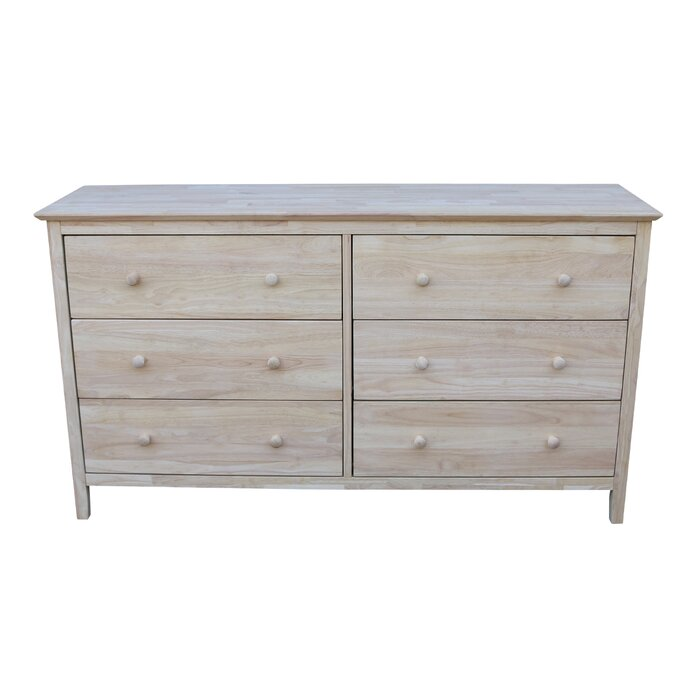 Sommerville 6 Drawer Double Dresser